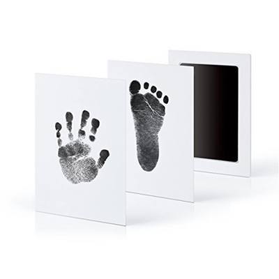 non-toxic ink for baby footprint, non-toxic ink for baby handprint, Newborn Footprint Ink, Baby imprint kit