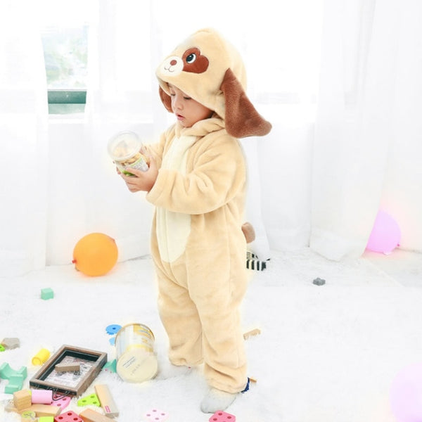 Very Cute Plush Cartoon Romper / Jumpsuit / Pajamas / Onesie