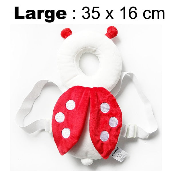 Rear Head Protector for Child Safety - Cushioned Head Bumper