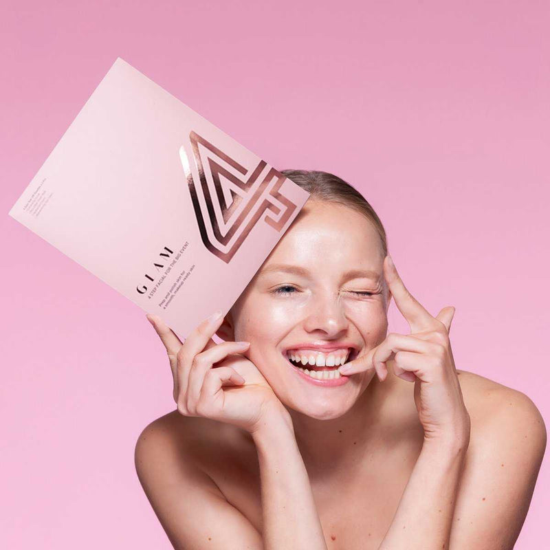4 Glam Sheet Masks (2 count)