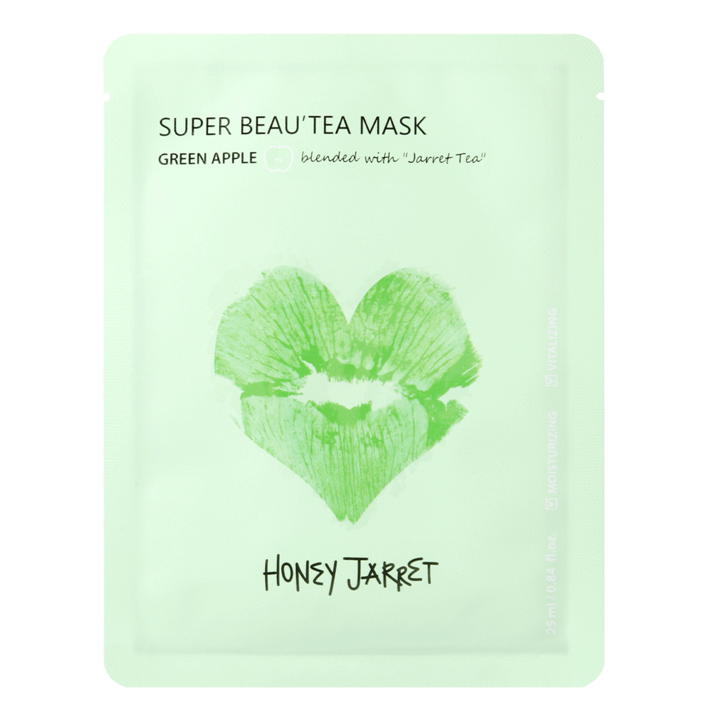 Super Beau'tea Sheet Mask (Green Apple)