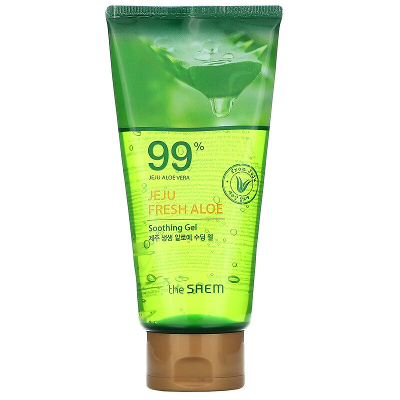 Jeju Fresh Aloe Soothing Gel 99%_300ml_Tube
