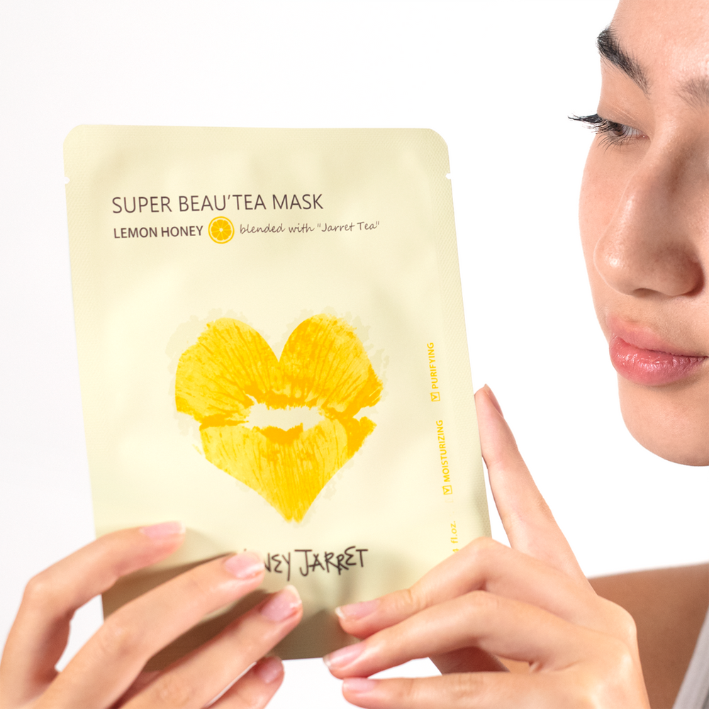 Super Beau'tea Sheet Mask (Lemon Honey)