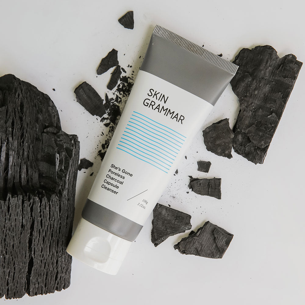 She's Gone Poreless Charcoal Capsule Cleanser