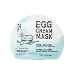Egg Cream Mask (Pore Tightening)