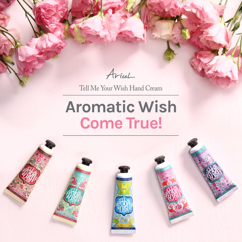 Ariul Tell Me Your Wish Hand Essence Romantic (Tube)