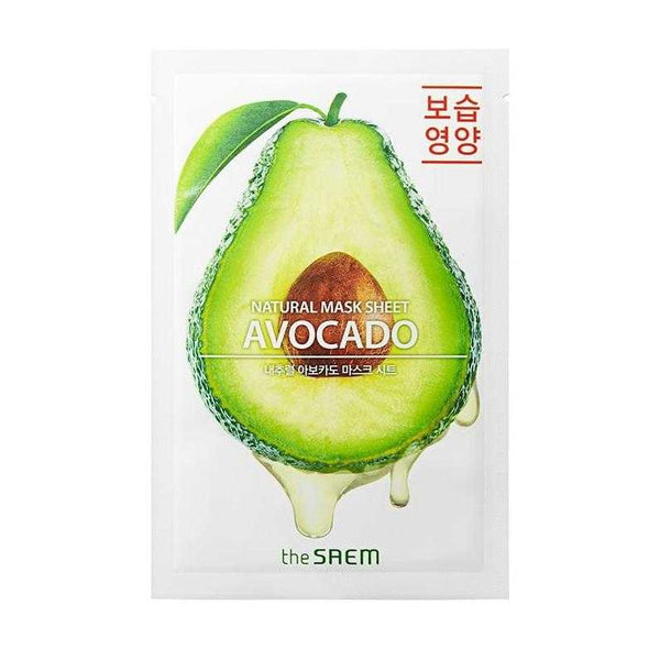 Natural Avocado Sheet Mask