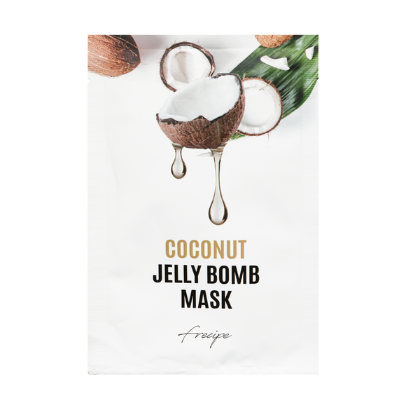 Coconut Jelly Bomb Mask