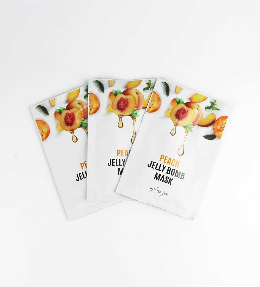 Peach Jelly Bomb Mask