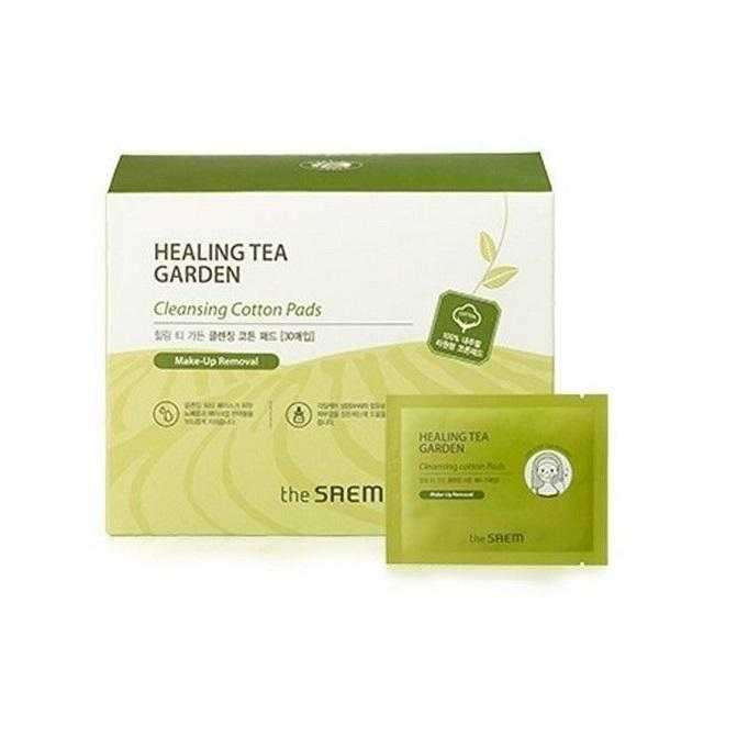 Healing Tea Cleansing Cotton Pads (30pcs)