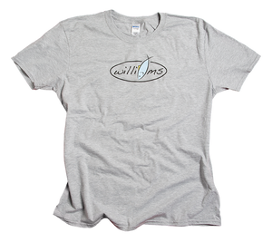 Williams Logo Tee - Gray