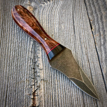 Load image into Gallery viewer, The Edisto Oyster Knife - Stonewashed - Redwood Burl & Cocobolo