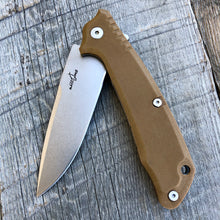 Load image into Gallery viewer, Prototype Flip Folder - Matte Finish - Brown G-10
