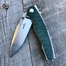 Load image into Gallery viewer, Prototype Flip Folder - Matte Finish - Green G-10