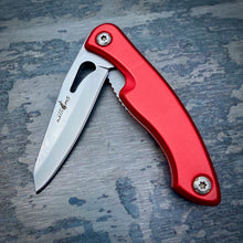 Load image into Gallery viewer, Prototype Folder - Matte Finish - Red Anodized Aluminum Handle