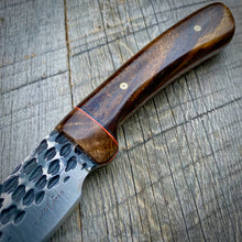 Load image into Gallery viewer, The Hammered Keowee - Pheasant Wood & Sycamore Burl