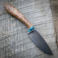 Load image into Gallery viewer, The Stonewash May Skinner - Maple Burl & Turquoise