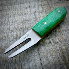 Load image into Gallery viewer, The Divot Tool - Green Dyed Curly Maple