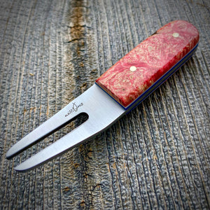 The Divot Tool - Red Dyed Maple Burl