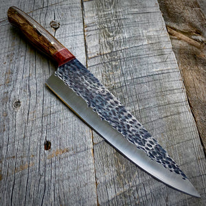 The Kiawah Hammered - Pheasant Wood & Thuya Burl