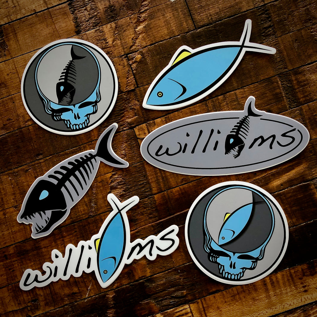 Williams Knife Co. Sticker Pack
