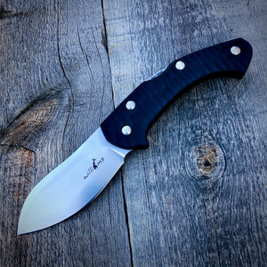 Expedition Prototype Folder - One of a Kind - Super-Light Guppy Belly - Black G-10