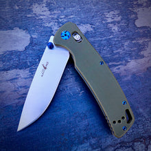 Load image into Gallery viewer, Expedition Prototype Folder - One of a Kind - Mid Drop Point - Green G-10