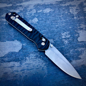 Expedition Prototype Folder - One of a Kind - Slender Drop Point - Black G-10