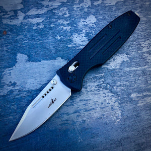 Expedition Prototype Folder - One of a Kind - False Edge Matte - Black G-10