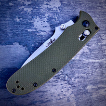 Load image into Gallery viewer, Expedition Prototype Folder - One of a Kind - GEN1 Straight - Army Green - Gray Coated