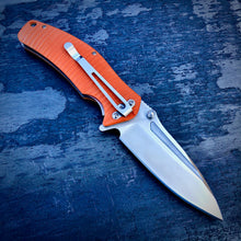 Load image into Gallery viewer, Expedition Prototype Folder - One of a Kind - Flipper Matte - Orange G-10