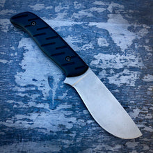 Load image into Gallery viewer, EXP ELMAX Concept Knife - One of a Kind - Big Game Knife - Tumbled ELMAX & Black G-10