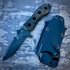 EXP Concept Knife - One of a Kind - Survival Prototype - Black G-10