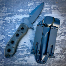 Load image into Gallery viewer, EXP Concept Knife - One of a Kind - Survival Prototype - Black G-10