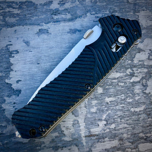 Expedition Concept Folder - One of a Kind - Coated Fighter - Black G-10