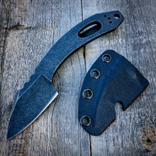 Load image into Gallery viewer, Legacy Concept Knife - One of a Kind - Minimalist Quick Cut with Clip - Stonewashed
