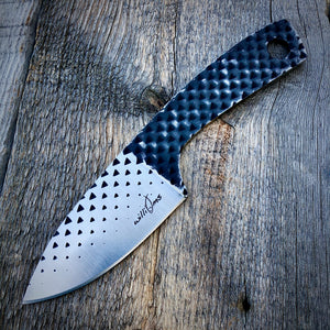 "Legacy Concept Knife - One of a Kind - ""Rasp"" Drop Point"