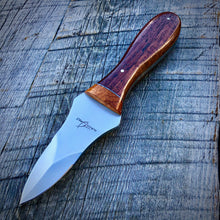 Load image into Gallery viewer, The Edisto Oyster Knife - Claro Walnut & Afzelia Burl