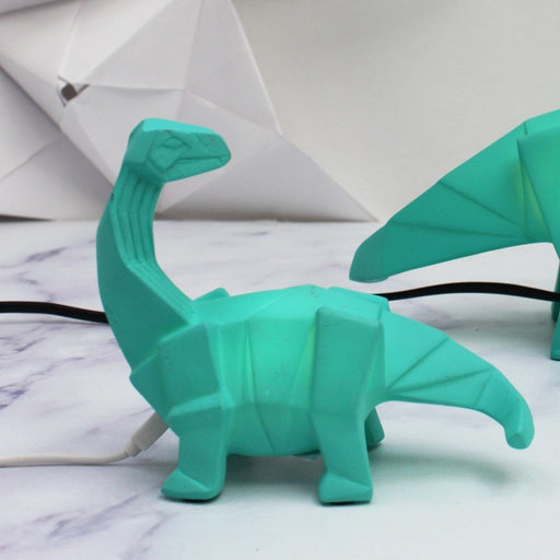 Mini LED Lamp Dinosaur Green