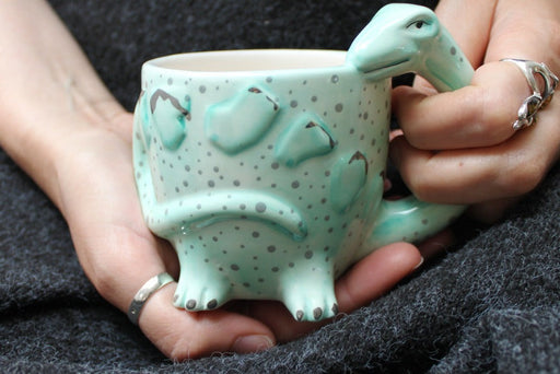 Diplodocus Shaped Cup