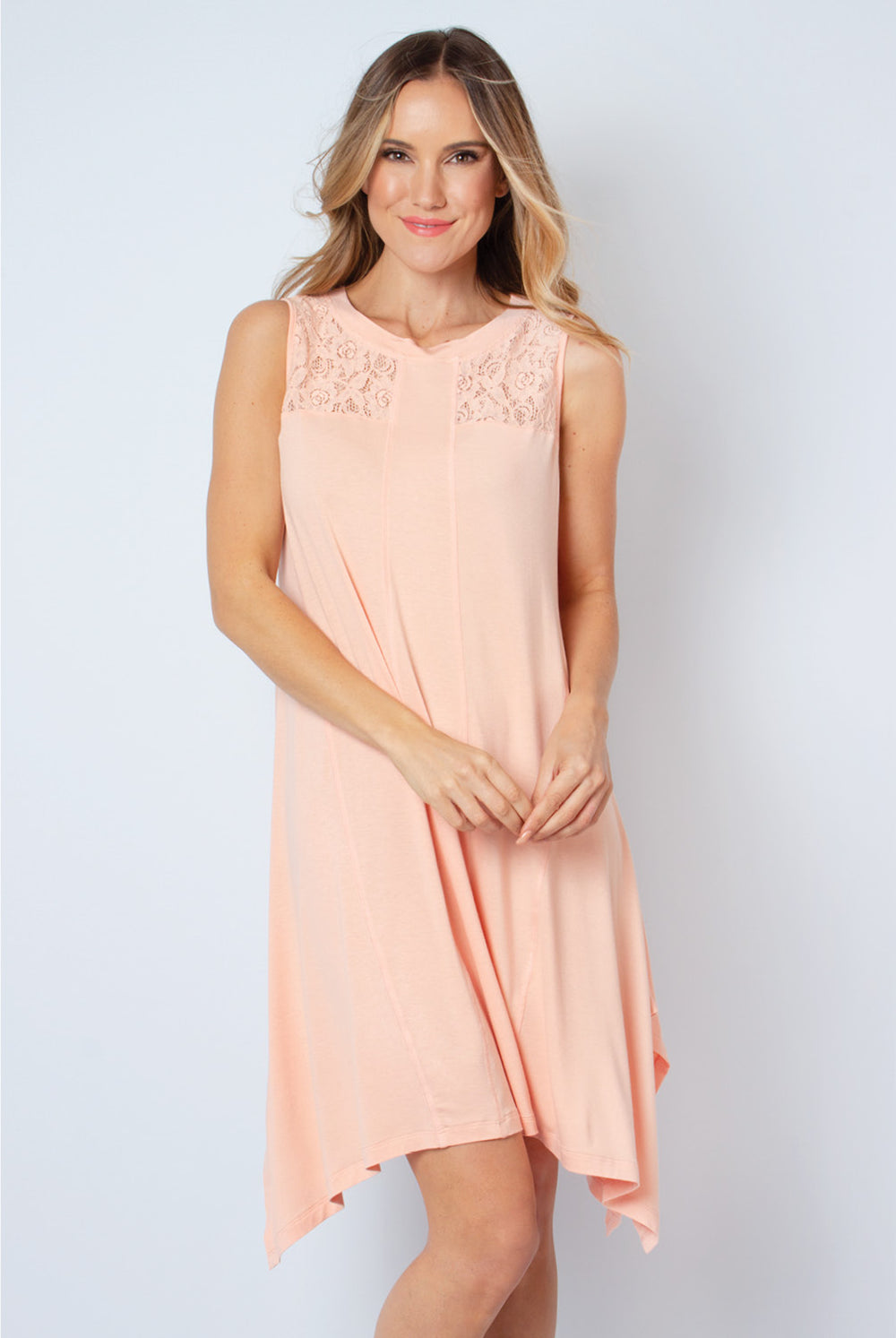 Summer Bliss Lace Knit Dress