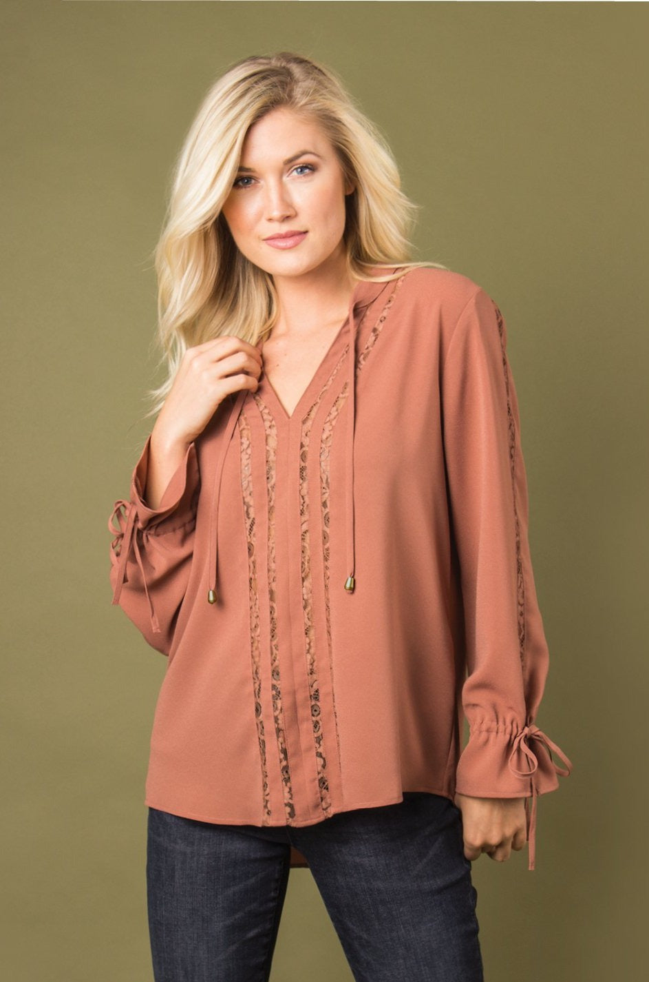 Fashionably Lace Top