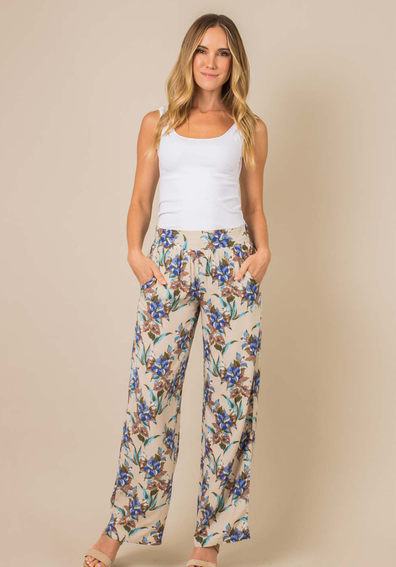 Tropical Retreat Palazzo Pants