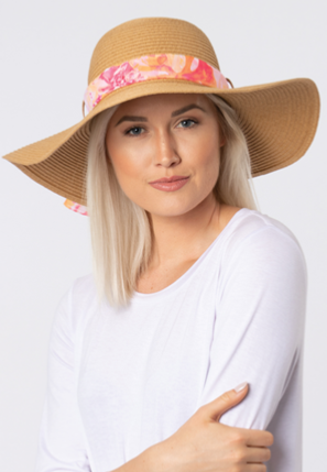 Paradise Sunhat with Scarf
