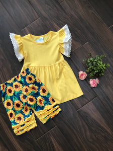 Walking On Sunshine | 2 pcs Short Set
