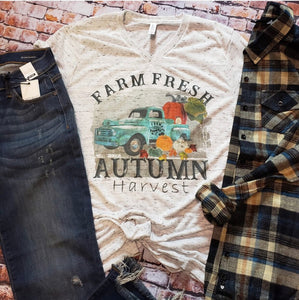 Autumn Harvest Tee  | Adult Graphic Tee