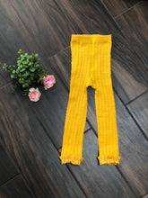 Load image into Gallery viewer, Always Be My Baby Mustard | Footless Tights
