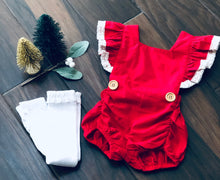 Load image into Gallery viewer, Santa Baby | Romper