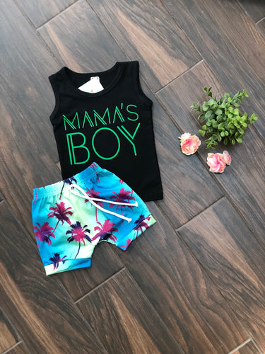 Mamas Boy | 2 pcs Short Set