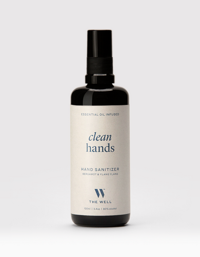 Clean Hands Sanitizer: Bergamot & Ylang Ylang